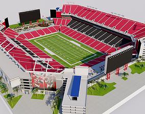 3D model Raymond James Stadium - Tampa - Florida USA