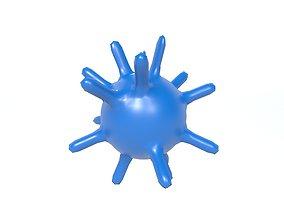 Virus v1 002 3D asset
