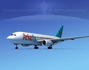 Boeing 767-200ER Arkefly 3D model