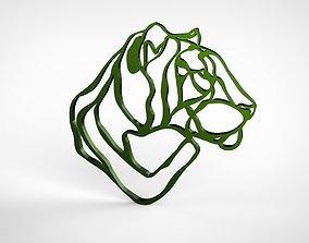 Tiger Wall Decor 3D printable model