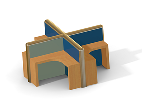 3D print model Classic Modular Workstation