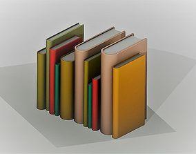 3D printable model Set of Books For Shelves