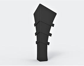 Shin armor of Batman 1989 3D printable model