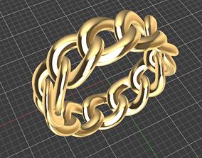 3D model Cuban ring