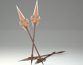 Spear Medieval for Animation Higth Quality Clear Model