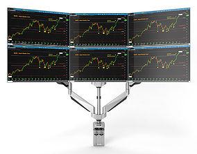 3D 6-Monitors