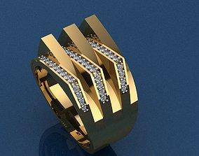 engagement Ring 42 3D print model