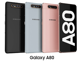 Samsung Galaxy A80 Collection 3D model