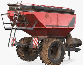 Perard X-Flow 19 Transbordeur Red Used 3D model