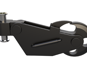 TUG BOAT TOW HOOK 3D model