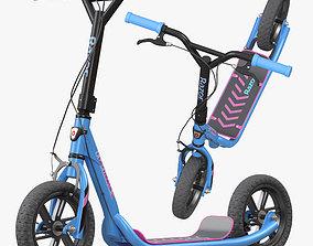 Flashback BMX Style Kick Scooter 3D