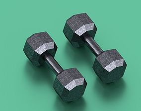 3D print model Dumbbells set