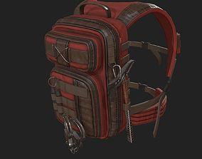 3D model Human Backpack