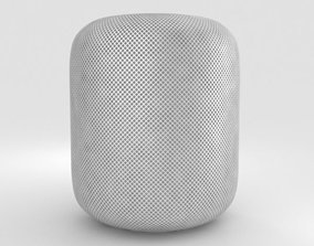 Apple HomePod White 3D