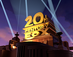 3D 20th Century Fox logo Cycles