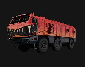 3D asset Halloween Truck