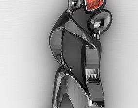 3D print model mom day jewelry 2