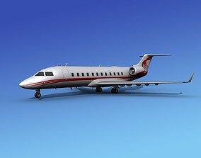 Canadair CRJ200 Corporate 2 3D