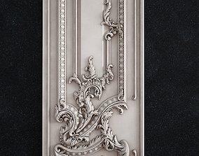 Door baroque 3D print model