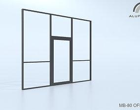 3D model Aluprof MB-80 Office 008 0170