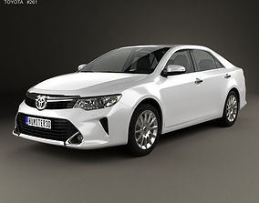 Toyota Camry Elegance Plus CIS 2014 3D model