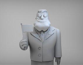 3D printable model American Dad