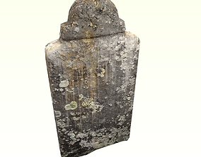 Dirty tomb 2 3D asset