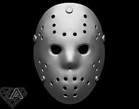 Jasons Hockey Mask 3D print model toy