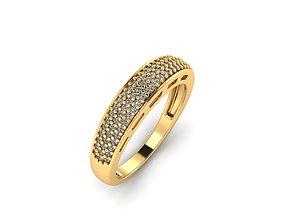 aneldeouro 3D printable model anel cravado