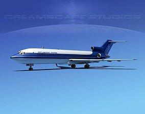 3D model Boeing 727-200 Atlantic Air