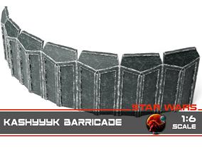 3D printable model Kashyyyk barricade 1-6 scale
