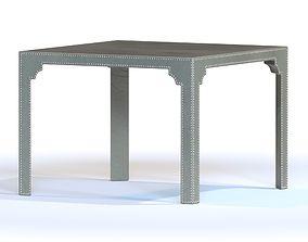 3D Vanguard Bingham Upholstered Game Table V126-GT