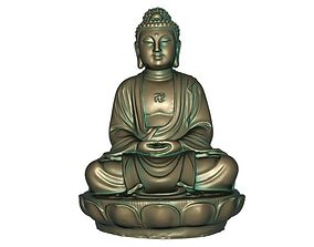 Buddha 3D printable model 3D model