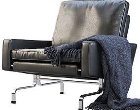 3D model Fritz Hansen PK31 easy chair