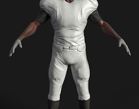 3D model Game ready football player