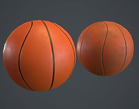 Basketball Ball PBR Game Ready 3D model