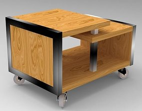 Coffee table metalo for sitting room hall 3D model