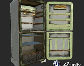 Dirty and Clear Refrigerator set Unity and 3D asset 2