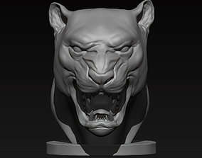 3D printable model Jaguar Bust