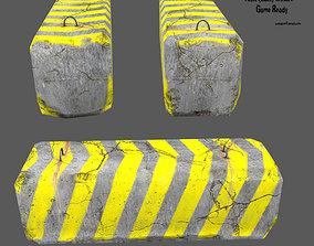3D asset barrier