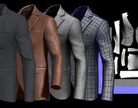 Suit for Marvelous Designer Video and File 3D model