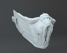 3D printable model Sub-Zero SUBZERO Mask Mortal Combat X