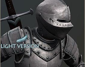 3D asset Adam Knight Light Version