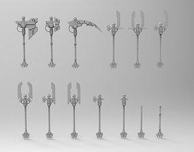 3D print model Necron Weapon Set