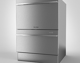 Double Dish Drawer 3D