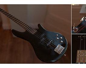 3D model Ibanez Bass Guitar