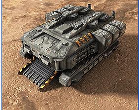 SciFi Army Harvester 3D model