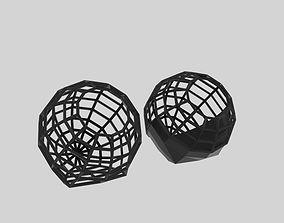 Sphere Side Wire 3D model