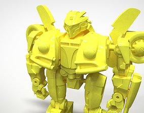 3D printable model android Bumblebee action figure