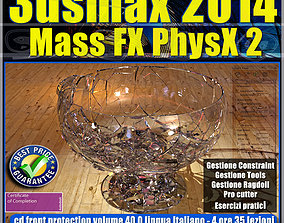 3dsmax 2014 Mass Fx PhysX v 40 Italiano cd animated
